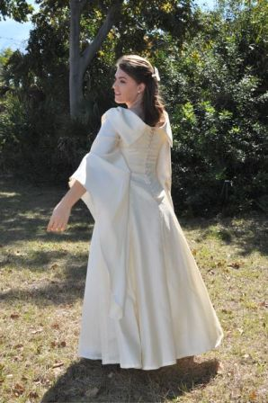 Medieval Wedding Gown LOTR
