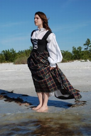 The Pirate Queen Simplicity 8855 Time Travel Costumes