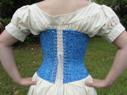 Civil War Victorian Corset Southern Belle