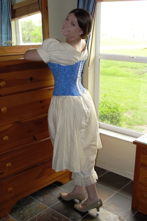 Civil War Southern Belle Corset