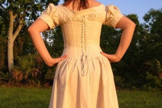 Time Travel Costumes Corset Chemise Simplicity 9769