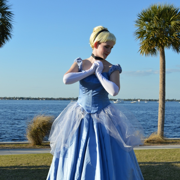 Kayla as Cinderella Gown Costume Dress