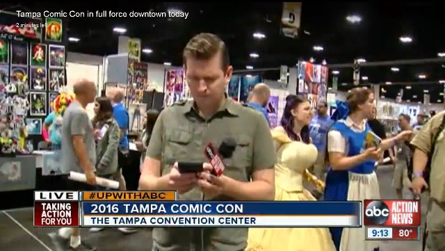 Tampa Bay Comic Con Belle Costume