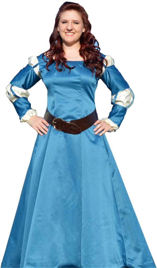 Brave Costume Princess Gown
